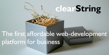 clearString web development software
